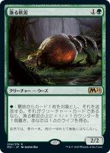 漁る軟泥/Scavenging Ooze 【日本語版】 [M21-緑R]《状態:NM》