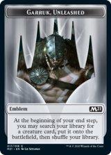紋章・ガラク/Emblem Garruk 【英語版】 [M21-トークン]《状態:NM》