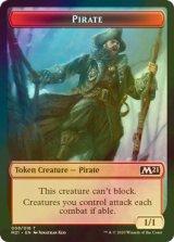 [FOIL] 海賊/Pirate 【英語版】 [M21-トークン]《状態:NM》