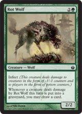 腐敗狼/Rot Wolf 【英語版】 [MBS-緑C]《状態:NM》