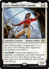 ウェザーライトの艦長、シッセイ/Sisay, Weatherlight Captain 【英語版】 [MH1-白R]