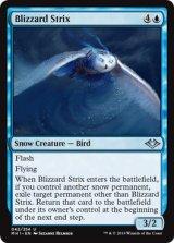 吹雪の大梟/Blizzard Strix 【英語版】 [MH1-青U]《状態:NM》