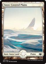 冠雪の平地/Snow-Covered Plains 【英語版】 [MH1-土地C]
