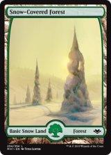 冠雪の森/Snow-Covered Forest 【英語版】 [MH1-土地C]