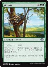 リスの巣/Squirrel Nest 【日本語版】 [MH1-緑U]