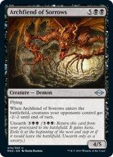 悲しみの魔神/Archfiend of Sorrows 【英語版】 [MH2-黒U]