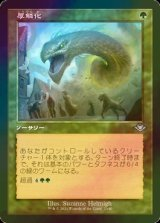 [FOIL] 厚鱗化/Scale Up (旧枠) 【日本語版】 [MH2-緑U]
