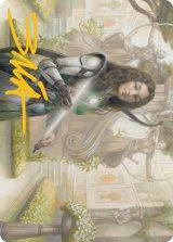 [アート・カード] 弓持つ侍祭/Arcus Acolyte No.044 (箔押し版) 【日本語版】 [MH2-トークン]