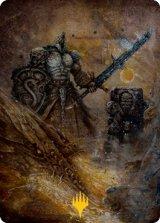[アート・カード] 影の処刑者、ダッコン/Dakkon, Shadow Slayer No.048 (箔押し版) 【日本語版】 [MH2-トークン]