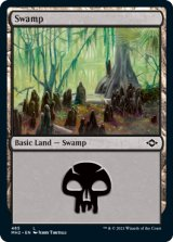 沼/Swamp No.485 【英語版】 [MH2-土地C]