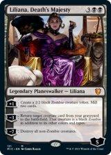 死の権威、リリアナ/Liliana, Death's Majesty 【英語版】 [MIC-黒MR]