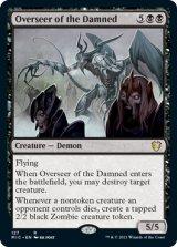 忌むべき者の監視者/Overseer of the Damned 【英語版】 [MIC-黒R]