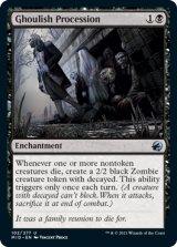グールの行進/Ghoulish Procession 【英語版】 [MID-黒U]