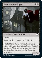 吸血鬼の侵入者/Vampire Interloper 【英語版】 [MID-黒C]
