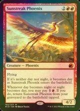 [FOIL] 太陽筋のフェニックス/Sunstreak Phoenix (コレクターブースター版) 【英語版】 [MID-赤MR]