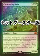 [FOIL] 消化の泥塊/Consuming Blob ● (セットブースター版) 【英語版】 [MID-緑MR]