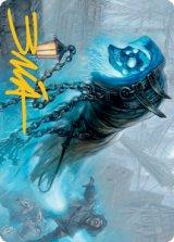 [アートカード] ネベルガストの侵入者/Nebelgast Intruder No.027 (箔押し版) 【英語版】 [MID-トークン]