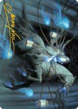 [アートカード] 上流階級の霊/Patrician Geist No.028 (箔押し版) 【英語版】 [MID-トークン]