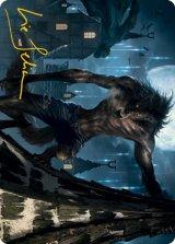[アートカード] 忍び寄る捕食者/Stalking Predator No.040 (箔押し版) 【英語版】 [MID-トークン]