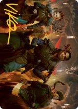 [アートカード] 蝋燭明かりの騎兵/Candlelit Cavalry No.048 (箔押し版) 【英語版】 [MID-トークン]
