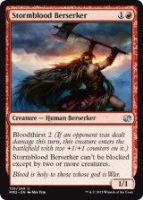 嵐血の狂戦士/Stormblood Berserker 【英語版】 [MM2-赤U]