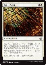 落とし穴の罠/Pitfall Trap 【日本語版】 [MM3-白C]