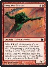 モグの戦争司令官/Mogg War Marshal 【英語版】 [MMA-赤C]《状態:NM》