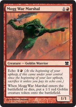 画像1: モグの戦争司令官/Mogg War Marshal 【英語版】 [MMA-赤C]《状態:NM》