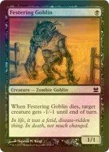 [FOIL] ただれたゴブリン/Festering Goblin 【英語版】 [MM-黒C]