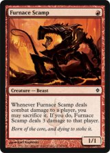 焼炉の悪獣/Furnace Scamp 【英語版】 [NPH-赤C]《状態:NM》