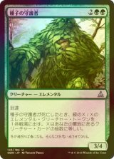 [FOIL] 種子の守護者/Seed Guardian 【日本語版】 [OGW-緑U]《状態:NM》
