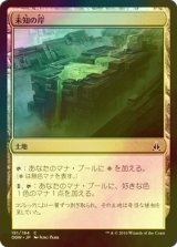 [FOIL] 未知の岸/Unknown Shores 【日本語版】 [OGW-茶C]