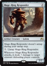 魔道士輪の対応者/Mage-Ring Responder 【英語版】 [ORI-灰R]《状態:NM》
