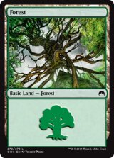 森/Forest No.272【英語版】 [ORI-土地]《状態:NM》
