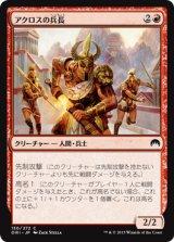 アクロスの兵長/Akroan Sergeant 【日本語版】 [ORI-赤C]