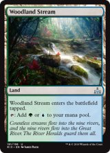 森林地の小川/Woodland Stream 【英語版】[RIX-土地U]