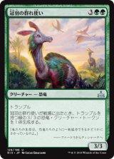冠羽の群れ使い/Crested Herdcaller 【日本語版】[RIX-緑U]