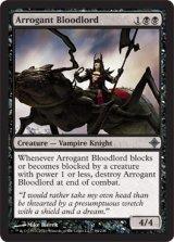 尊大な血王/Arrogant Bloodlord 【英語版】 [ROE-黒U]《状態:NM》