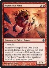 肉喰らうもの/Rapacious One 【英語版】 [ROE-赤U]《状態:NM》