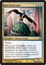 リーヴの空騎士/Lyev Skyknight 【英語版】 [RTR-金U]