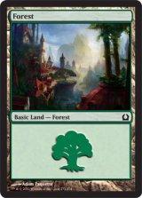 森/Forest No.272 【英語版】 [RTR-土地]