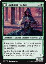 ラムホルトの平和主義者/Lambholt Pacifist 【英語版】 [SOI-緑U]《状態:NM》