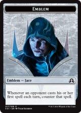 紋章 ジェイス/EMBLEM Jace 【英語版】 [SOI-トークン]《状態:NM》