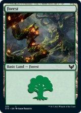 森/Forest No.375 【英語版】 [STX-土地C]