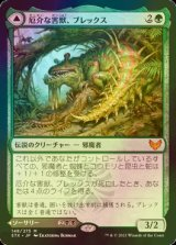 [FOIL] 厄介な害獣、ブレックス/Blex, Vexing Pest 【日本語版】 [STX-緑MR]