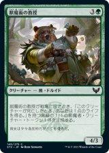 獣魔術の教授/Professor of Zoomancy 【日本語版】 [STX-緑C]