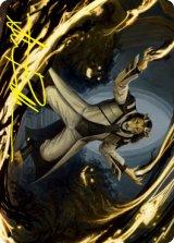 [アート・カード] レオニンの光写し/Leonin Lightscribe No.003 (箔押し版) 【英語版】 [STX-トークン]