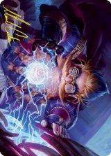[アート・カード] 嵐窯の芸術家/Storm-Kiln Artist No.013 (箔押し版) 【英語版】 [STX-トークン]