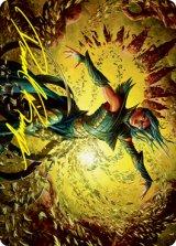 [アート・カード] 龍護りの精鋭/Dragonsguard Elite No.016 (箔押し版) 【英語版】 [STX-トークン]