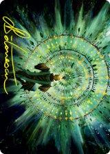 [アート・カード] 新緑の熟達/Verdant Mastery No.019 (箔押し版) 【英語版】 [STX-トークン]